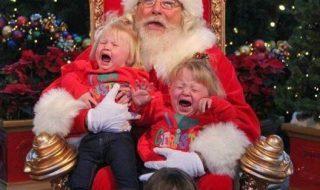 Ces enfants n'ont pas (mais vraiment pas) aimé leur rencontre avec le Père Noël…