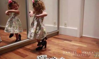 On a trouvé la plus mignonne des danseuses de flamenco !