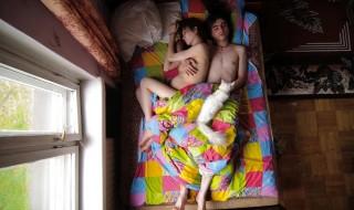 Ces futurs parents pris en flagrant délit… de sommeil !