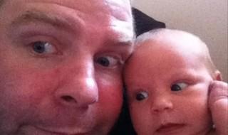 Selfies papa, maman et bébé : trop fun