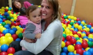 La première fois que j'ai emmené ma fille dans un parc de jeux