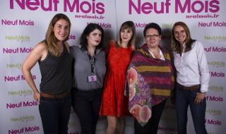 La team Neuf Mois était au Salon Babycool 2014
