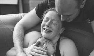 Un premier reportage photo chamboulé, elle aide sa cliente à accoucher !