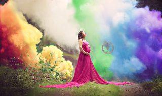 Après 6 fausses couches, elle immortalise sa grossesse avec une photo à couper le souffle