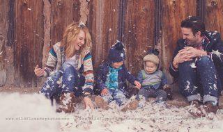 10 photos de famille qui nous font complètement craquer à faire à Noël