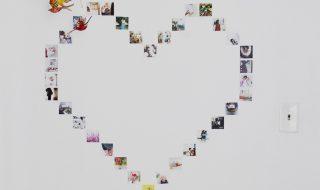Créer un joli cœur avec des photos pour décorer la chambre de bébé, on vous explique comment faire !