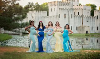 On adore ces photos de grossesse qui mettent à l'honneur les princesses Disney !