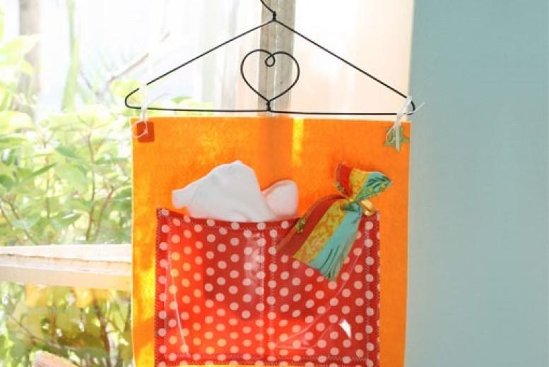 diy porte objets pratique et ludique pour b b. Black Bedroom Furniture Sets. Home Design Ideas