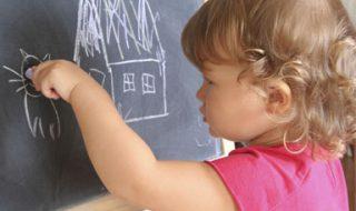Pour bébé, dessiner c'est grandir
