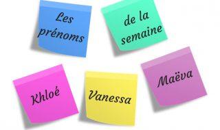 Les prénoms féminins de la semaine : quels sont ceux retenus par Neuf Mois ?