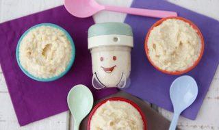 Petite purée de pommes de terre et chou-fleur pour bébé à partir de 7 mois