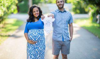 Comment s'habiller pour une séance photos de grossesse : cette infographie vous dit tout !