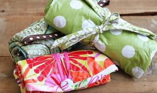 Comment créer un rangement en tissu pour les couches de bébé ?