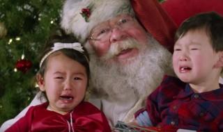 Vidéo : et vous, ça s'est bien passé la photo avec le Père Noël ?
