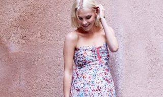 10 longues robes de grossesse pour se transformer en jolie bohème