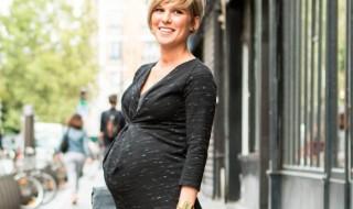 10 robes de grossesse branchées pour être lookée en hiver
