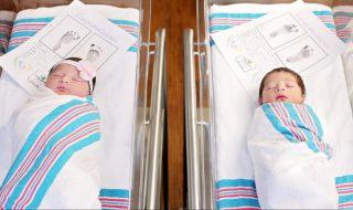 Des bébés prénommés Roméo et Juliet naissent le même jour et devinez où !
