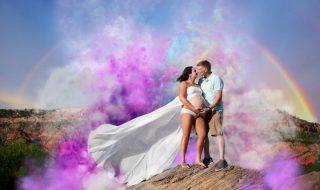 Après un deuil périnatal, ce couple veut redonner espoir en partageant une photo époustouflante