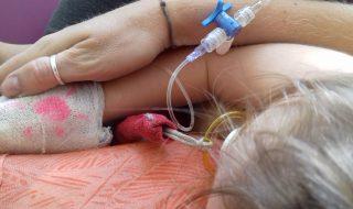 Témoignage : «ma fille a fait une septicémie à 14 mois et a vaincu l'infection»