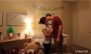 Profitez de 3 jolies minutes pour découvrir un adorable time-lapse de grossesse