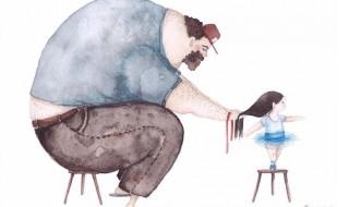 La jeune peintre Soosh illustre à merveille la relation père-fille
