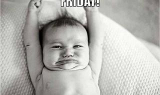 Oh, yeah c'est le week-end !