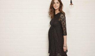 10 idées de petites robes noires de grossesse parfaites pour réveiller en beauté
