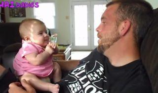 Ces bébés sont vraiment à croquer quand ils disent leurs premiers mots !