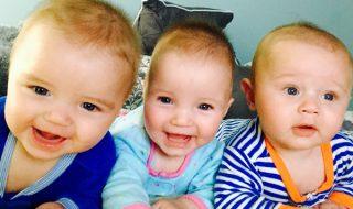 Pas facile d'être le papa de triplés : la preuve dans cette vidéo pleine d'humour !