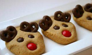 Recette pour bébé à partir de 2 ans : transformons les rennes du Père Noël en cookies