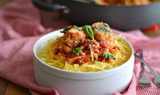 Spaghettis et petites boulettes de dinde pour bébé à partir de 18 mois