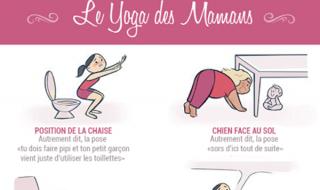 On a la preuve que vous pratiquez le yoga sans le savoir depuis que vous êtes maman !
