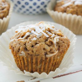 Petits muffins vegan à la noix de coco
